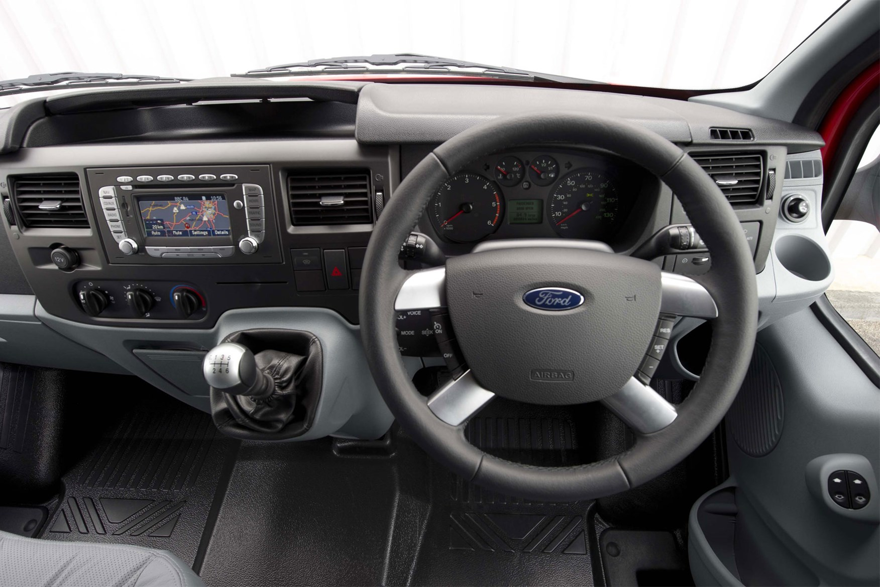 Ford Transit (2006-2014) cab interior