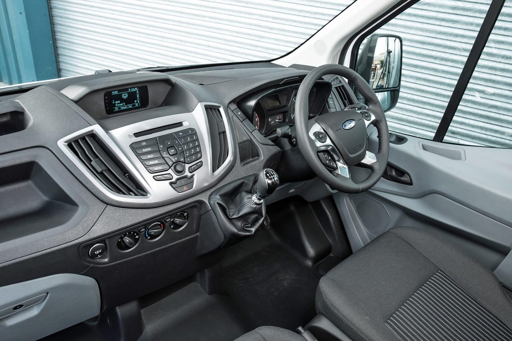 Ford Transit (2014-on) cab interior