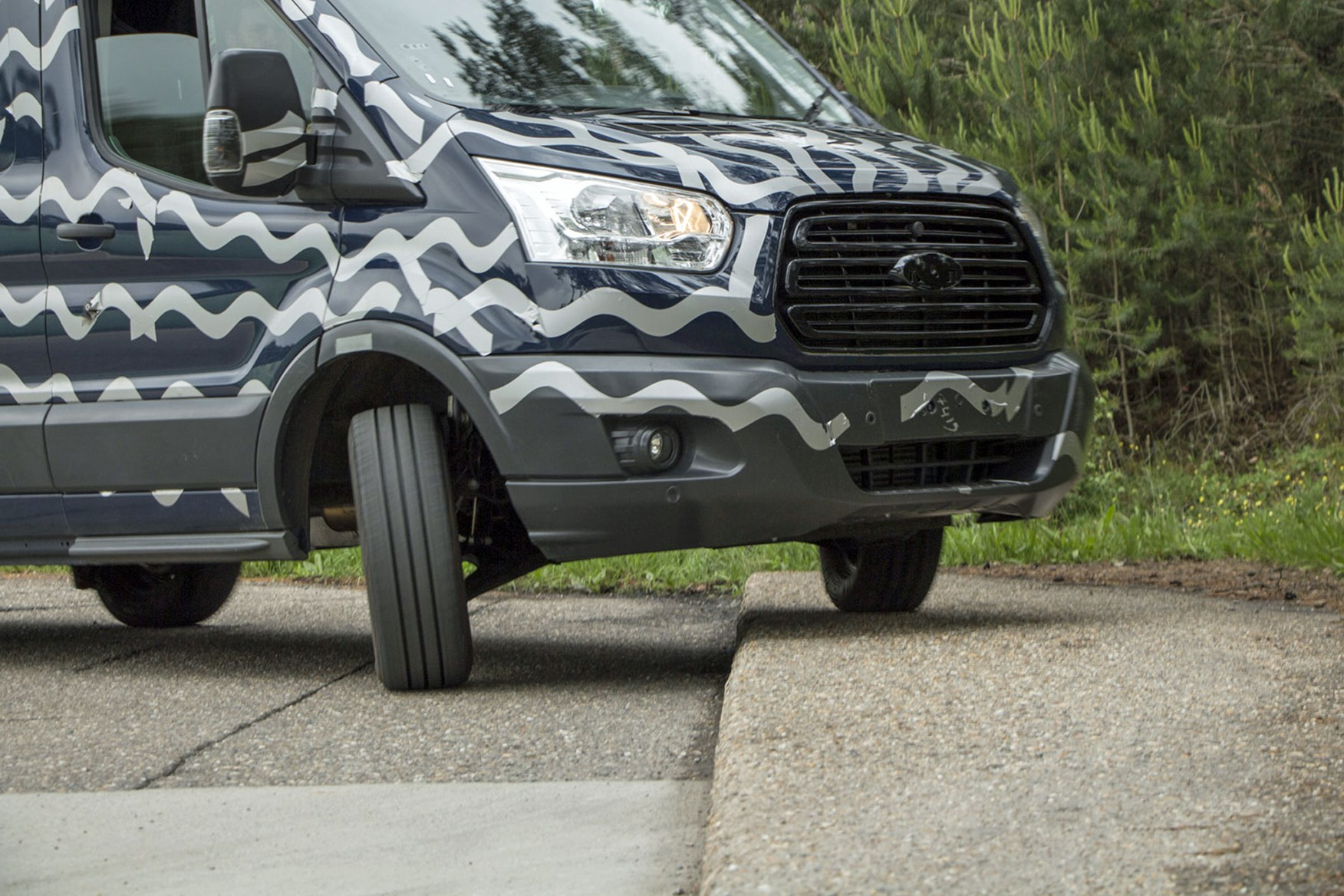 Ford Transit (2014-on) durability testing