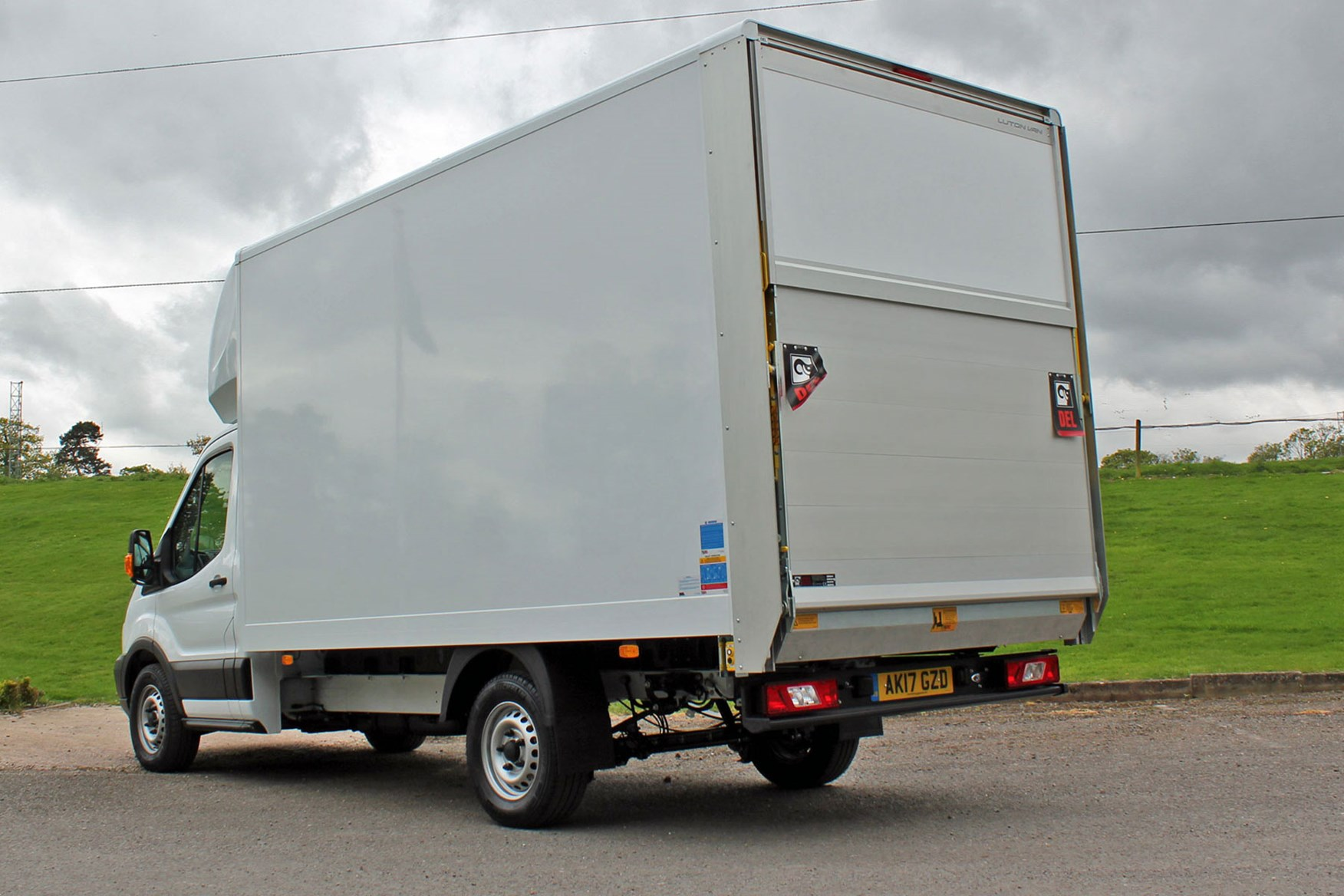 Ford Transit Luton review - rear view