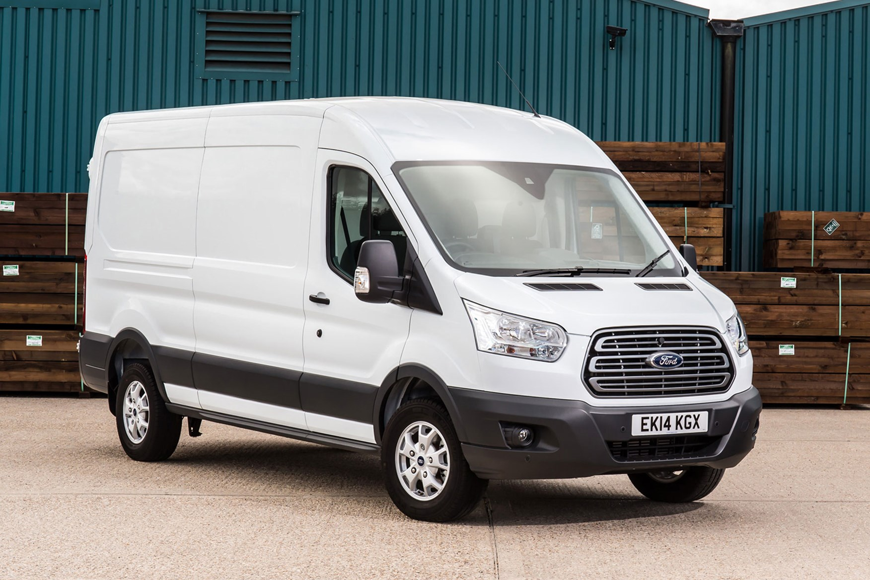Ford Transit RWD Trend review on Parkers Vans