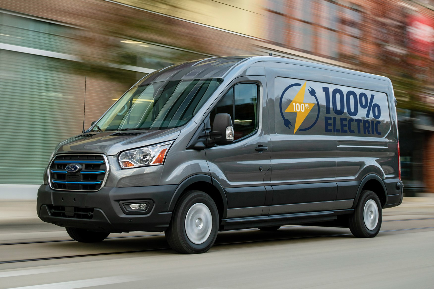 Ford E-Transit Electric van, on sale 2022