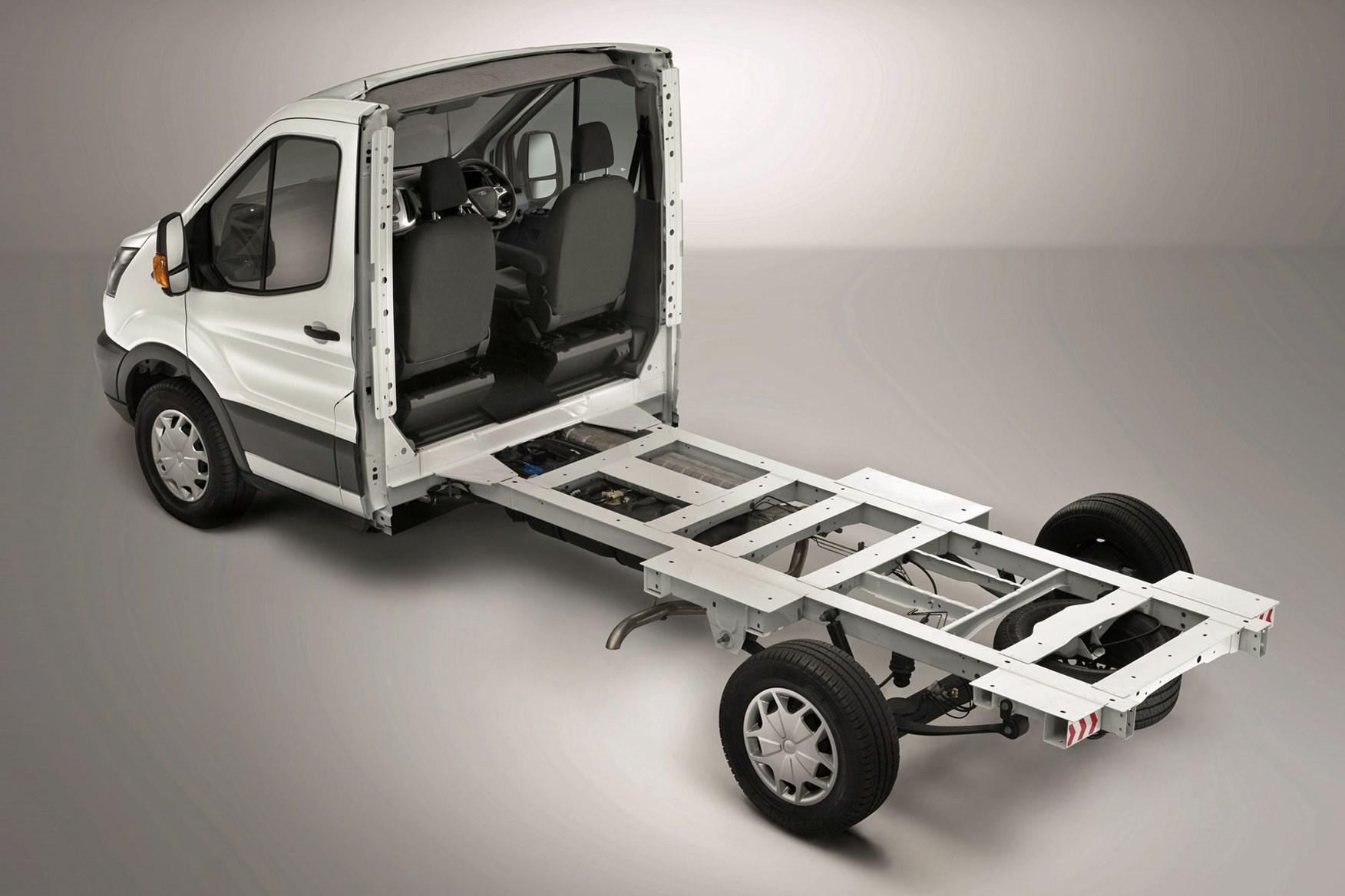 Ford Transit Van Dimensions Capacity Payload Volume