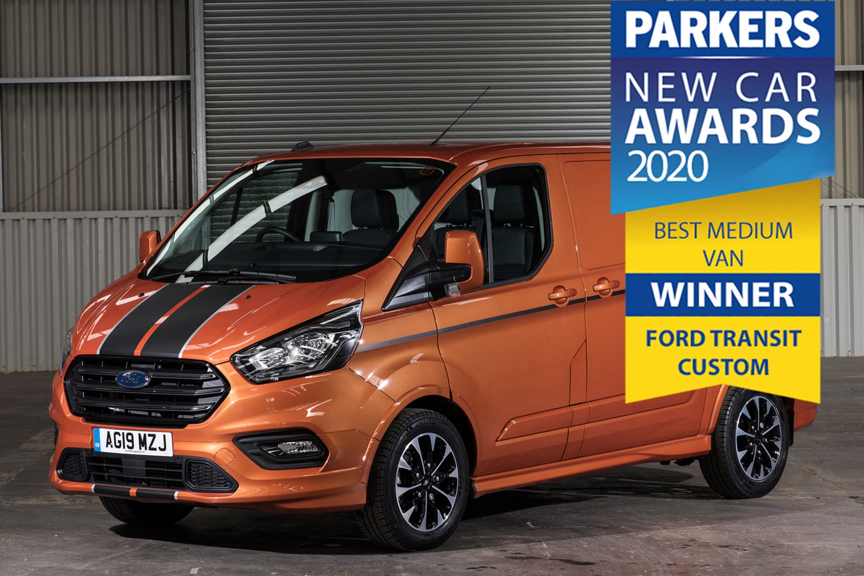 Ford Transit Custom - Parkers Medium Van of the Year 2020