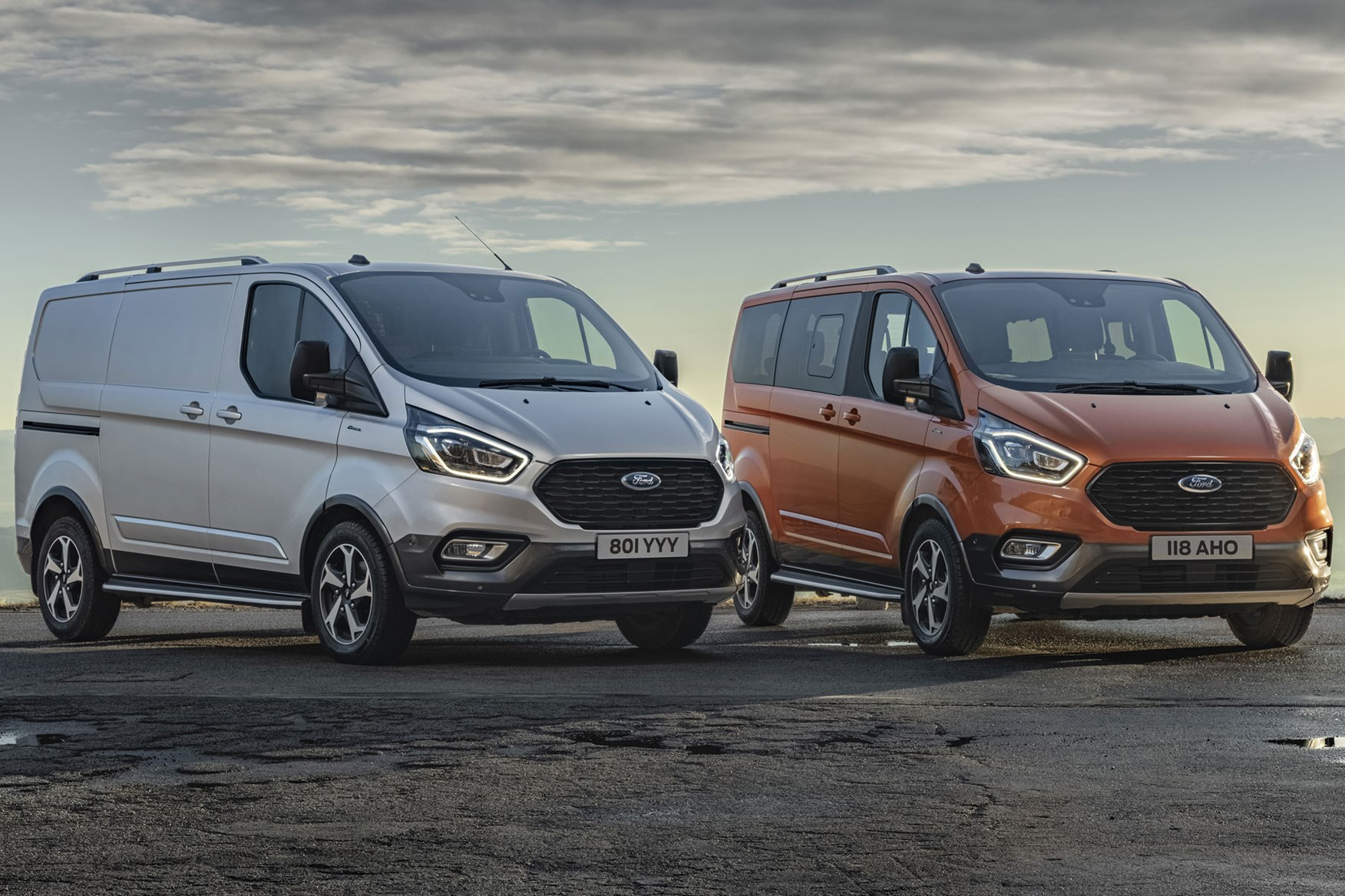 Ford Transit Custom Active and Ford Tourneo Custom Active - new for 2020