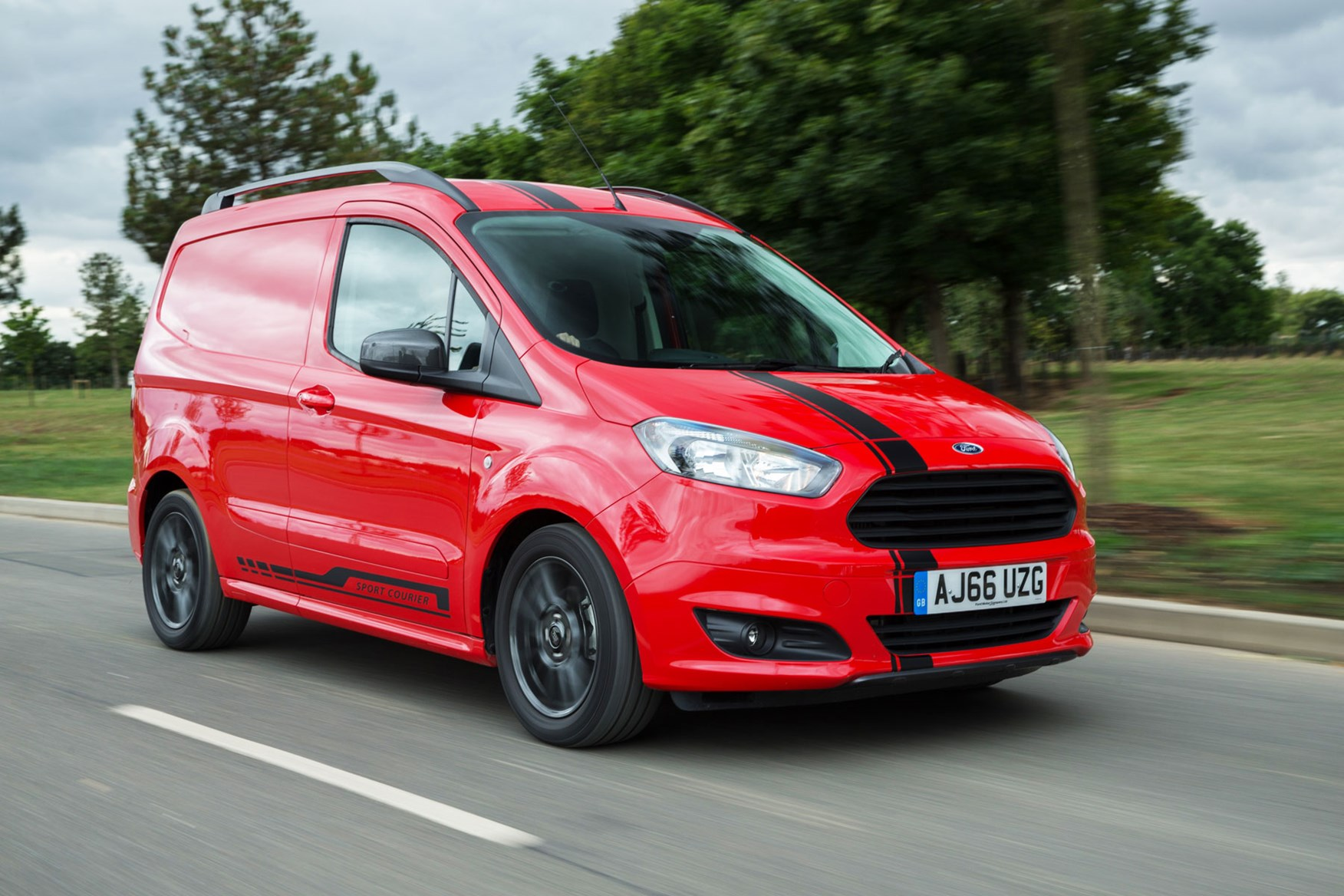 Ford Transit Courier Van Review 2020 Parkers