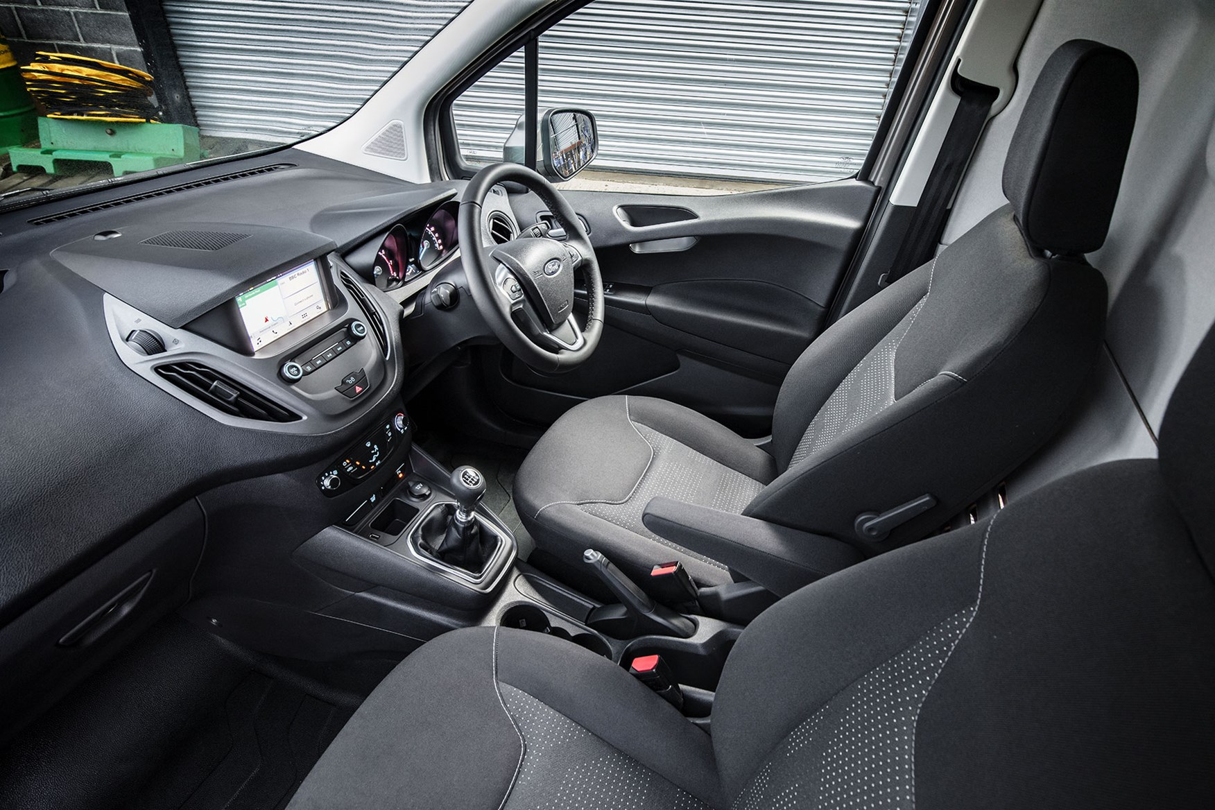 Ford Transit Courier review - cab interior after 2018 facelift