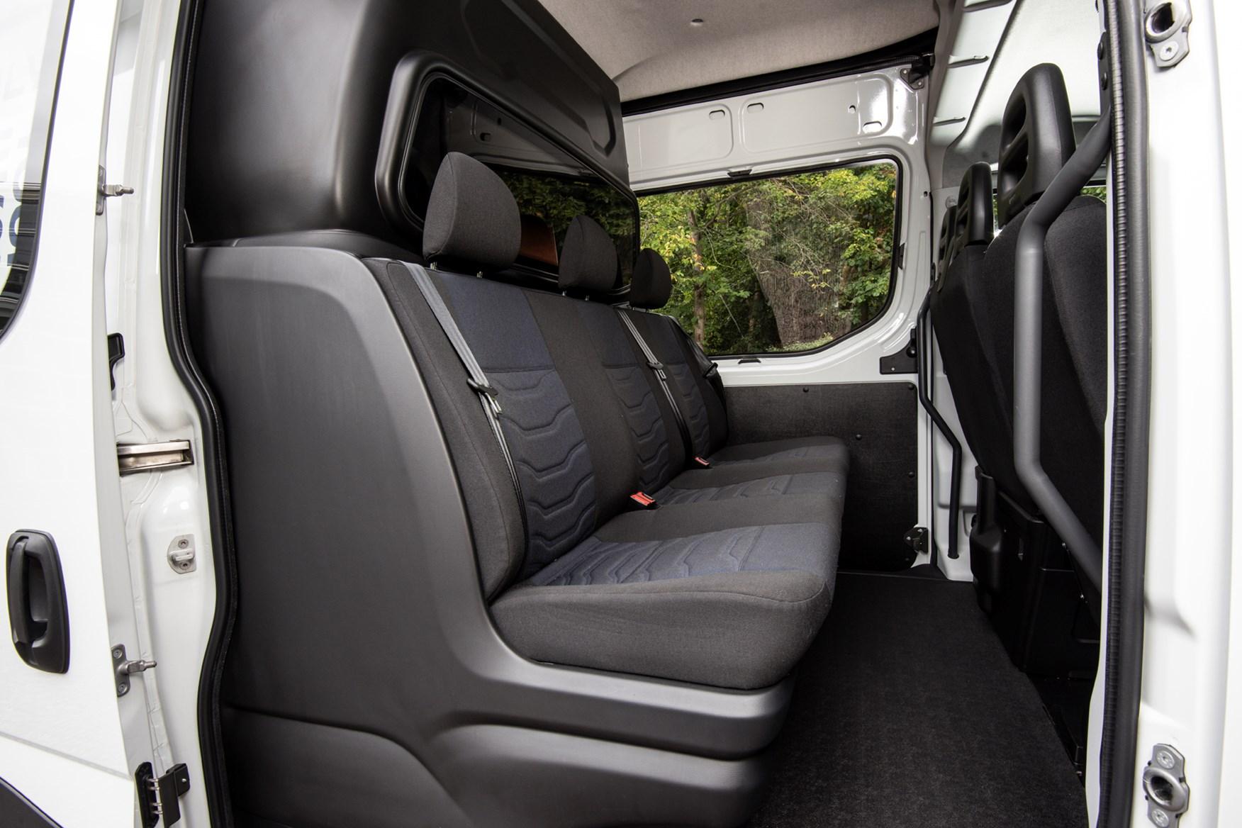 2021 Iveco Daily 3.5t CrewVan rear seats