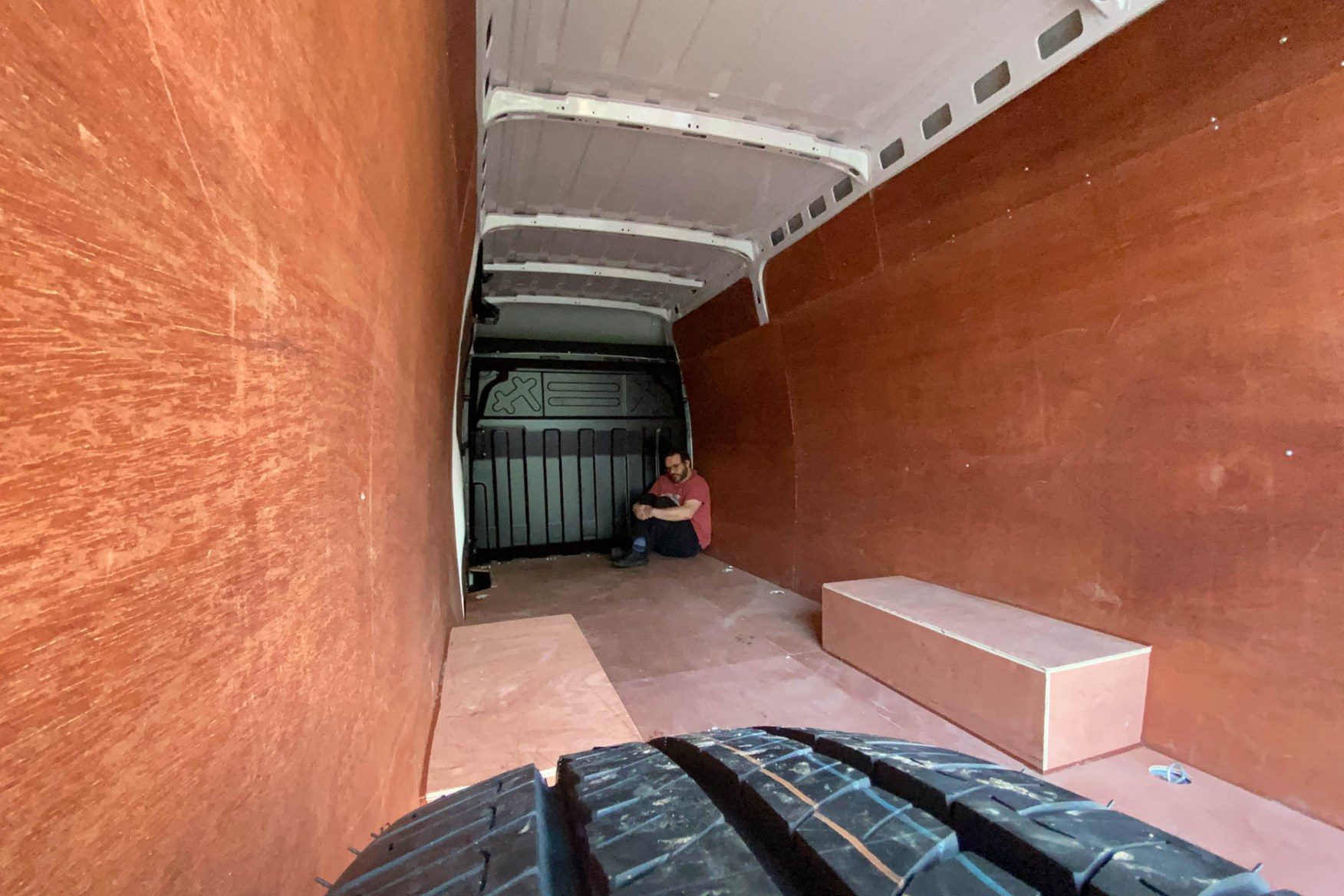 Iveco Daily 7.0t review - load space