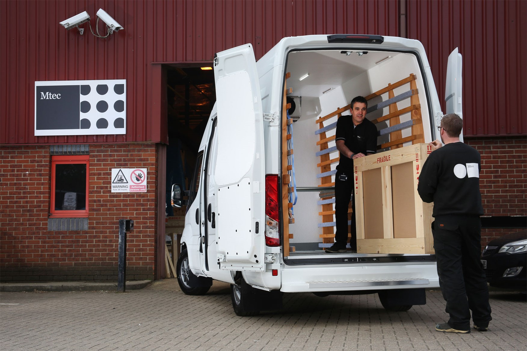 Iveco Daily load area