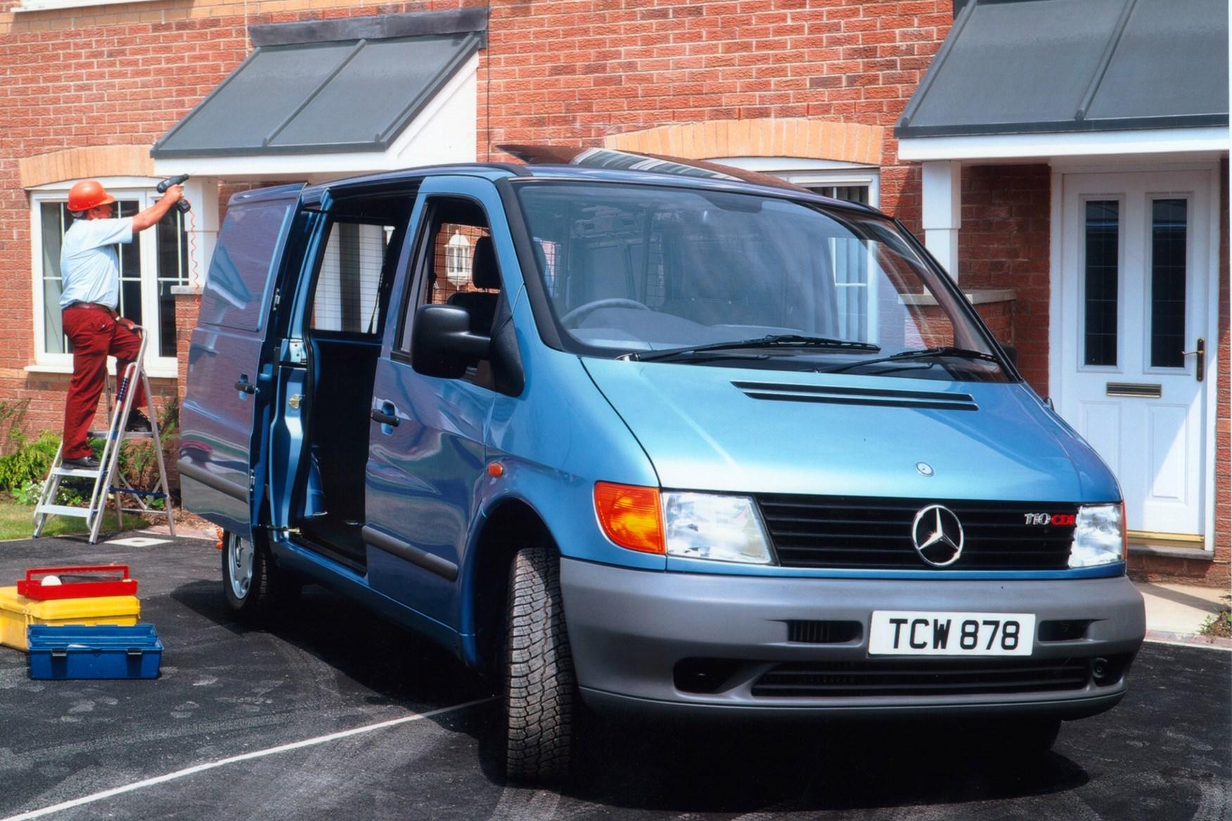 Mercedes-Benz Vito van review (1996-2003)   Parkers