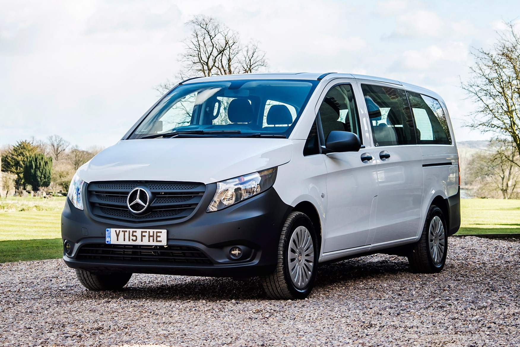 Mercedes-Benz Vito full review on Parkers Vans - front exterior