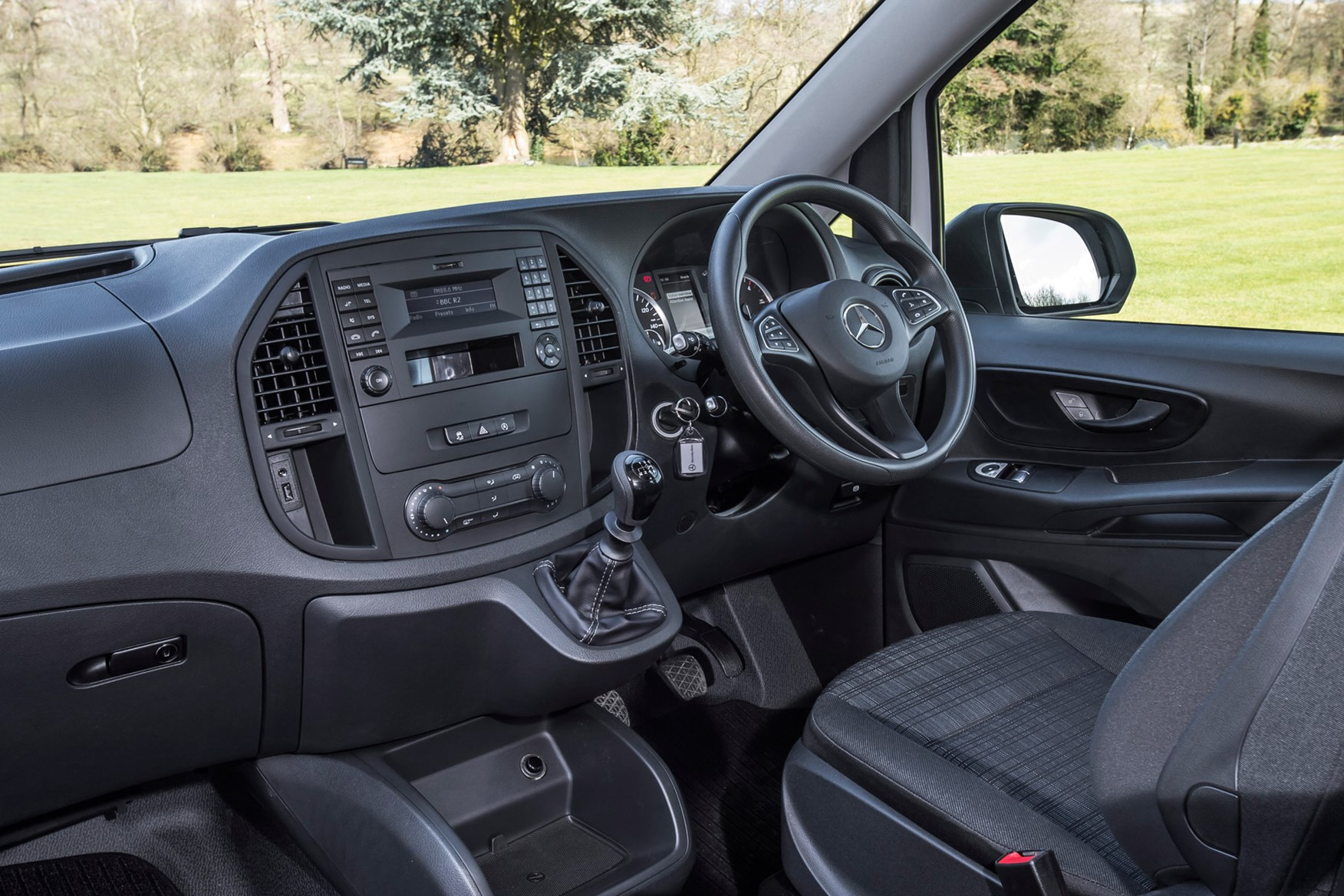 Mercedes-Benz Vito full review on Parkers Vans - cabin interior
