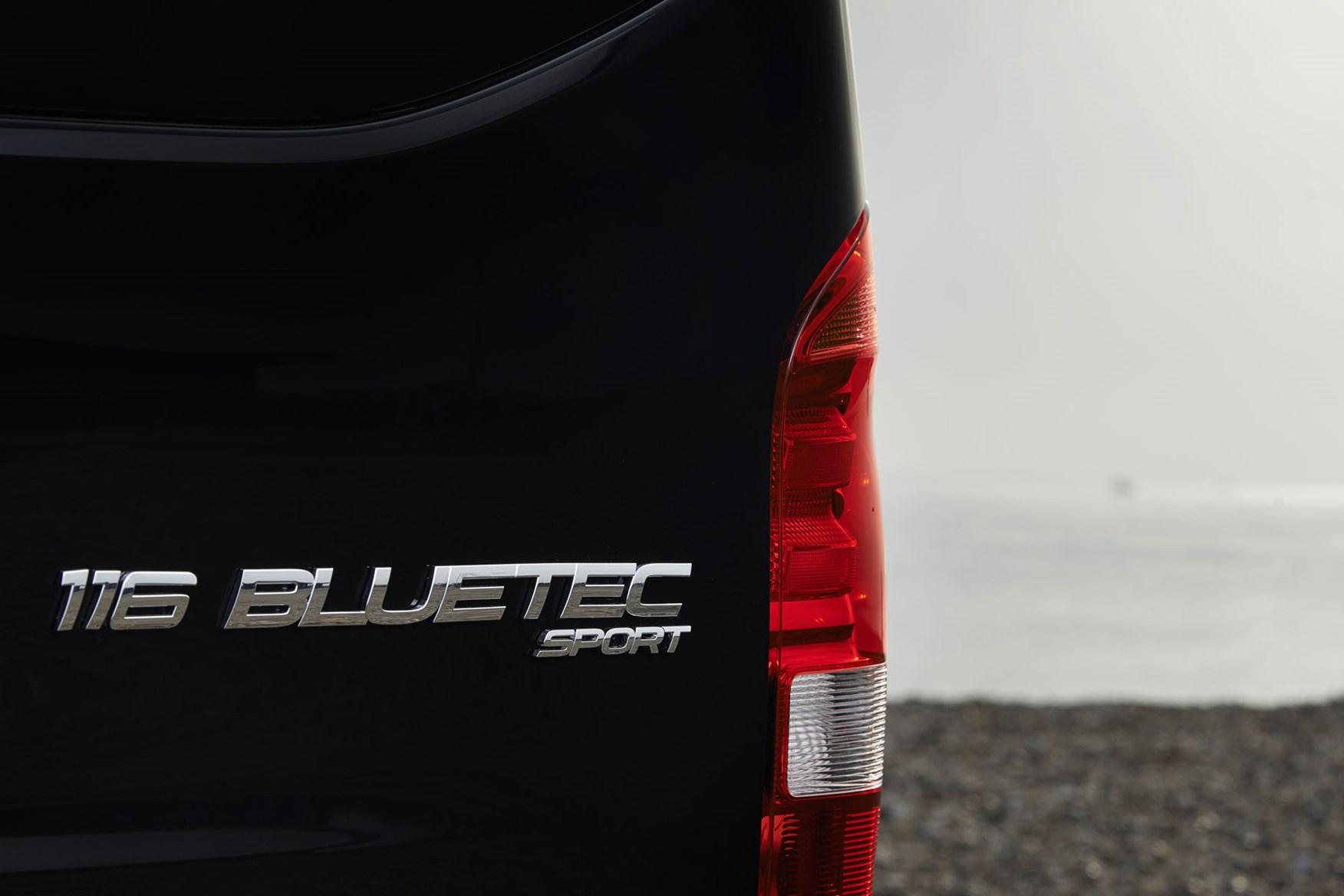 Mercedes-Benz Vito Sport review - Sport badge