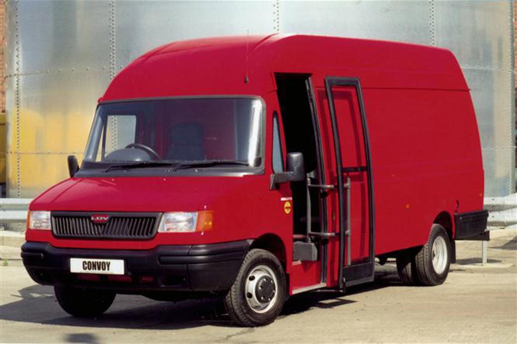 LDV Convoy review on Parkers Vans - exterior