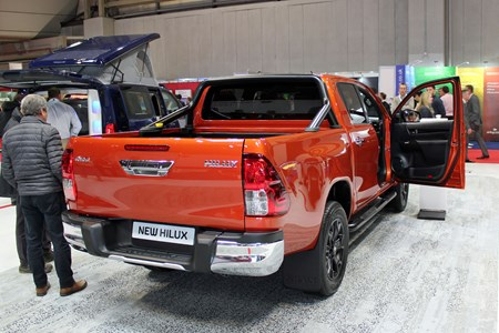 Toyota Hilux Invincible X - new look for new range-topper at