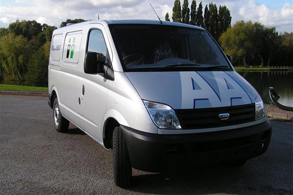 fa651014bbb655 LDV Maxus review on Parkers Vans - front exterior