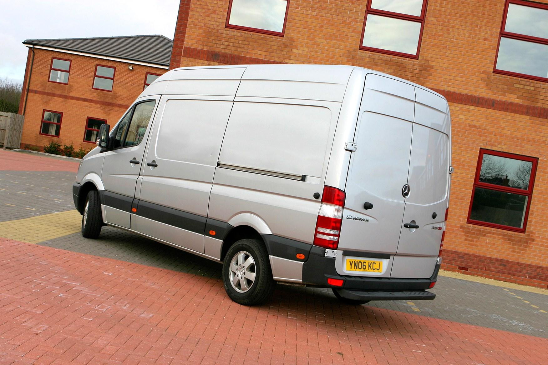Mercedes-Benz Sprinter 2006-2013 review on Parkers Vans - rear exterior