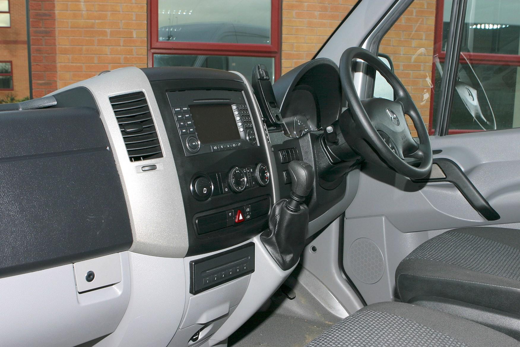 Mercedes-Benz Sprinter 2006-2013 review on Parkers Vans - cabin, interior