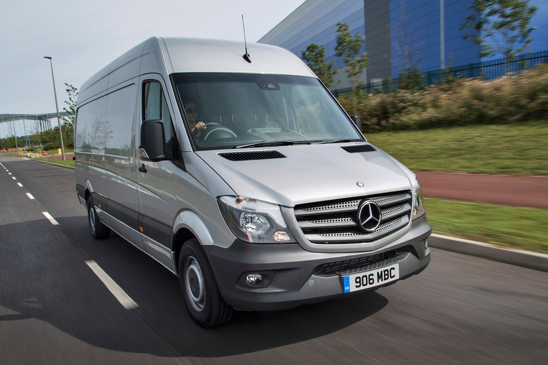 Mercedes-Benz Sprinter full review on Parkers Vans - front exterior