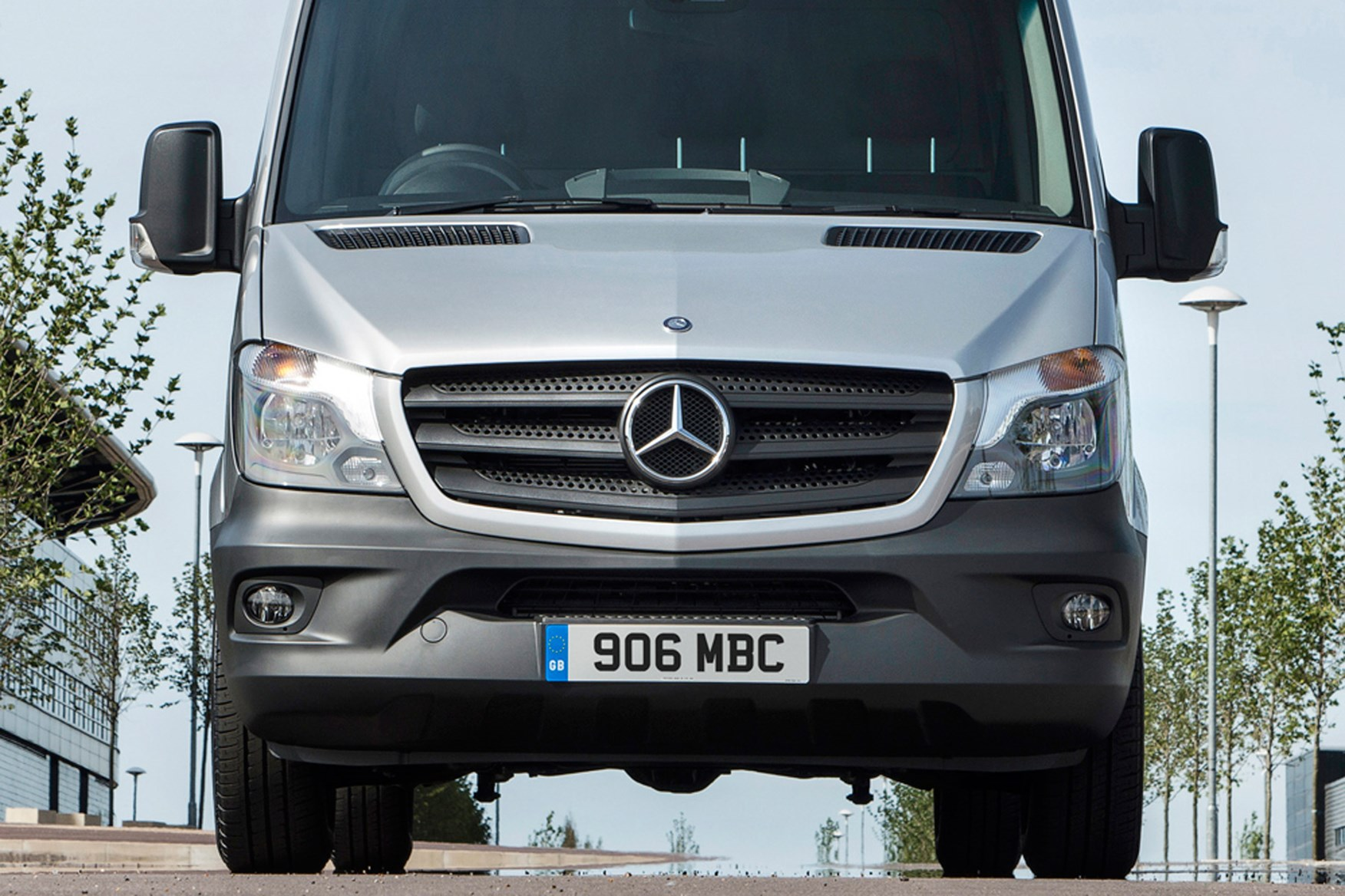 Mercedes-Benz Sprinter full review on Parkers Vans - front