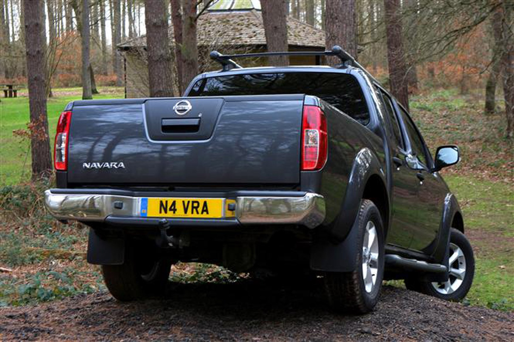 Nissan Navara 2005-2015 review on Parkers Vans - rear exterior