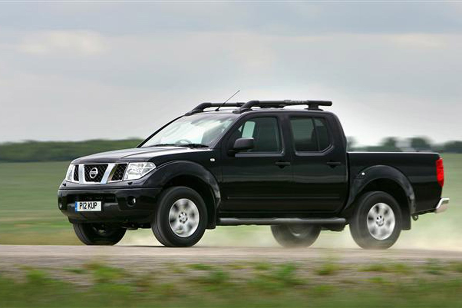 Nissan Navara 2005-2015 review on Parkers Vans - on the road