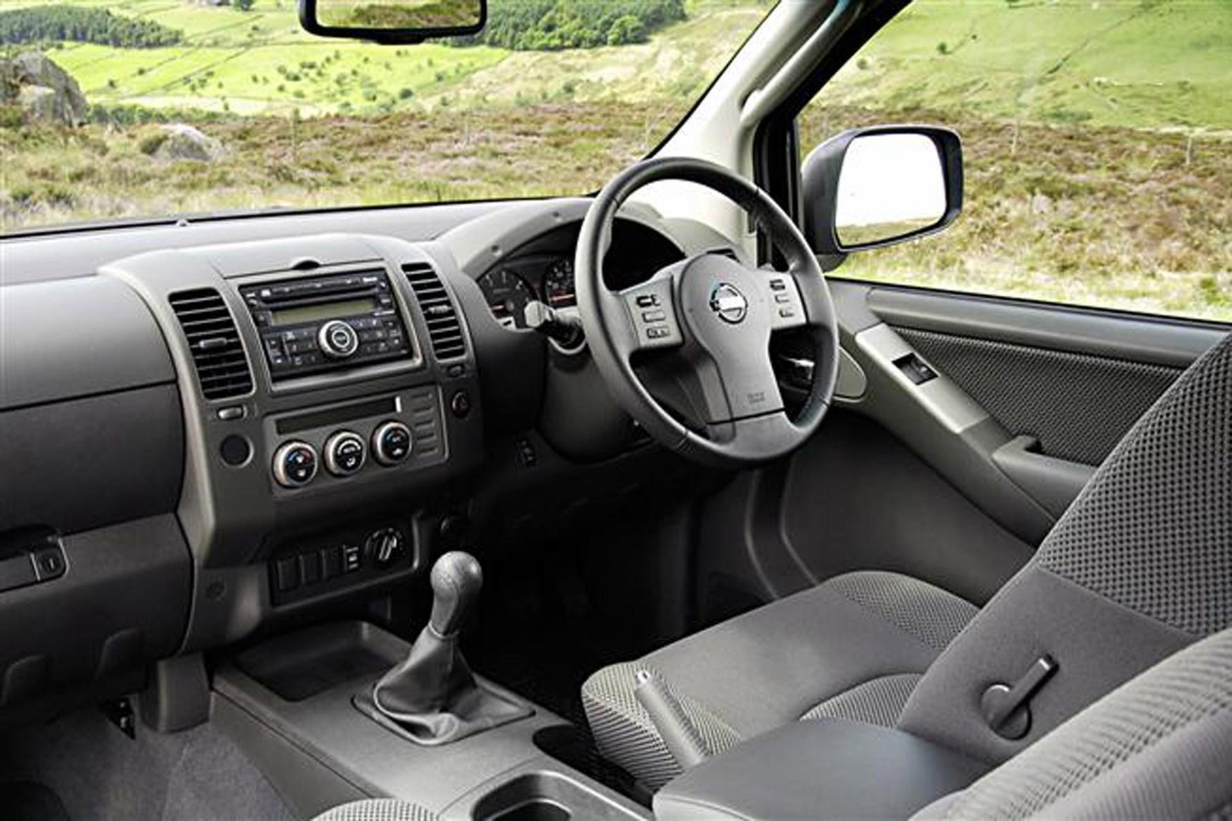 Nissan Navara 2005-2015 review on Parkers Vans - interior