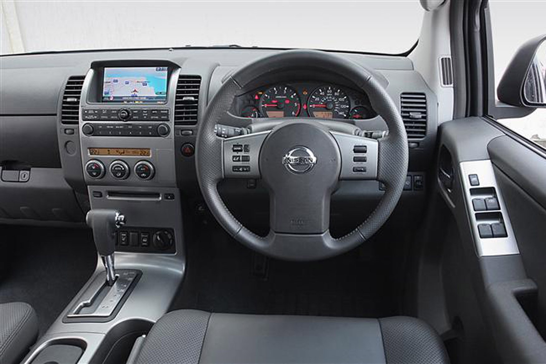 Nissan Navara 2005-2015 review on Parkers Vans - in the driver's seat