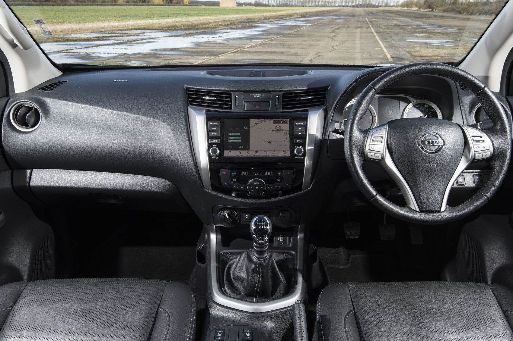 Nissan Navara review, 2019 update model, cab interior