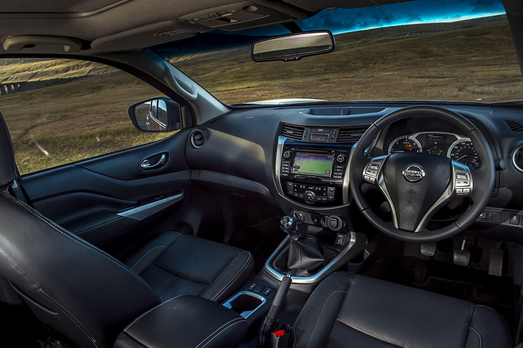 Nissan Navara review - cab interior