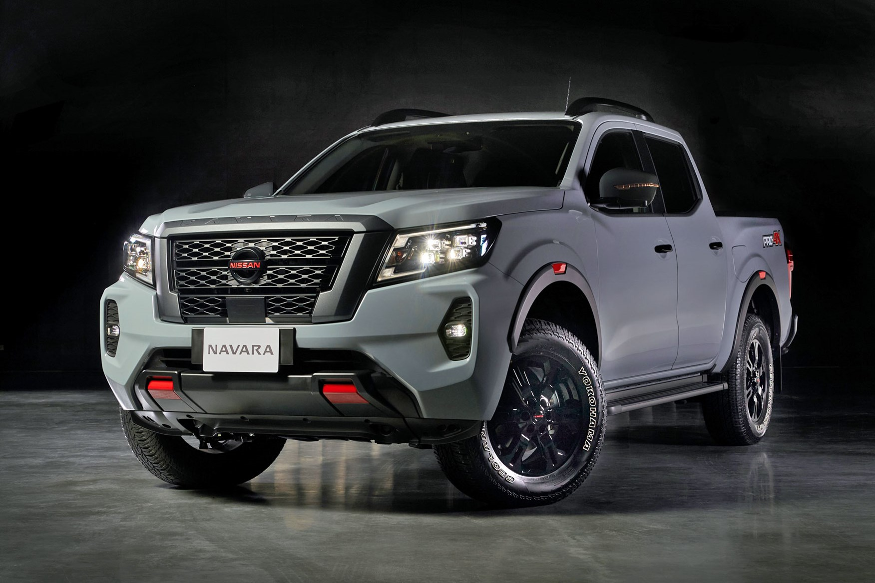 2021 Nissan Navara facelift front - not coming to the UK and Europe
