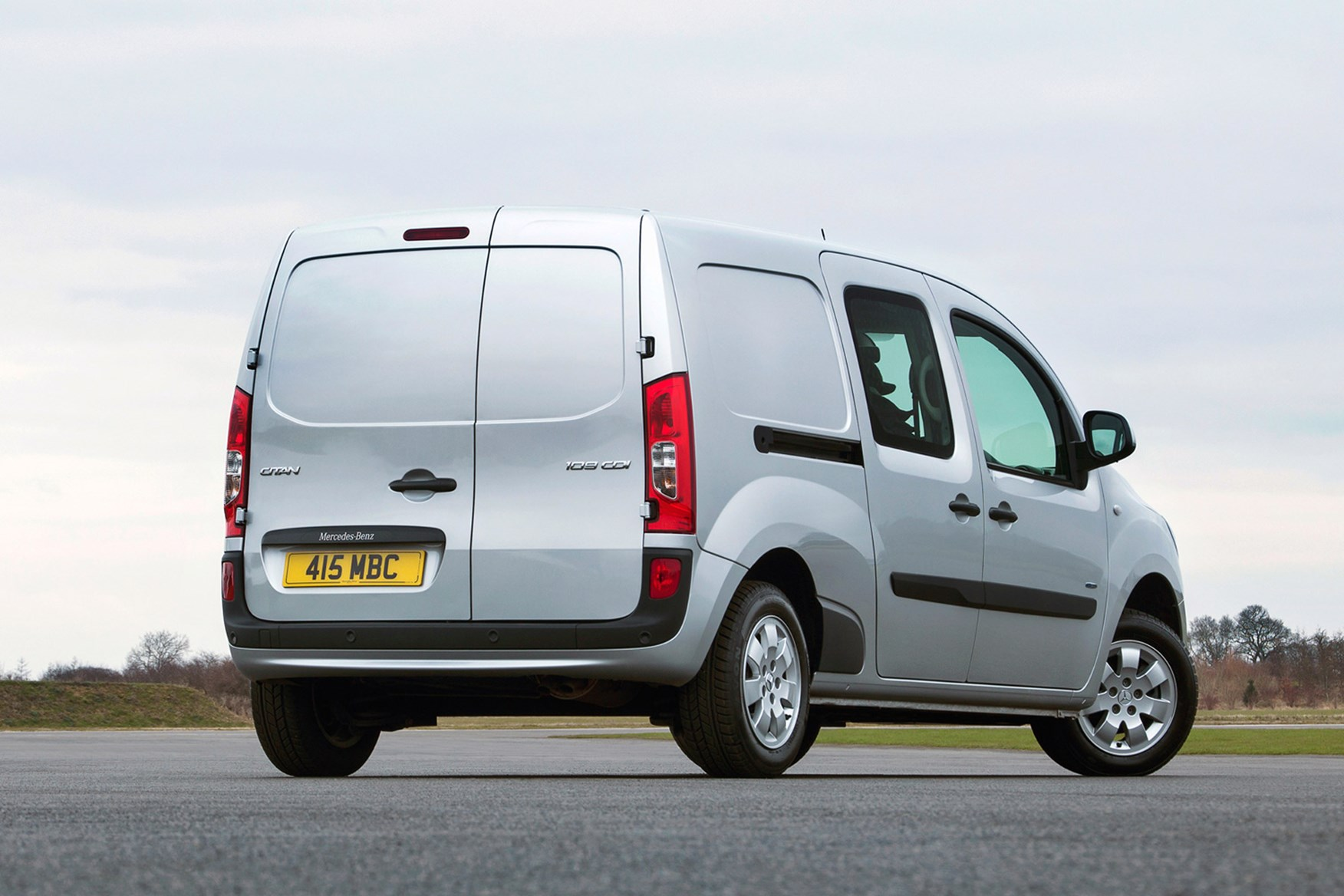 Mercedes-Benz Citan full review on Parkers Vans - rear exterior