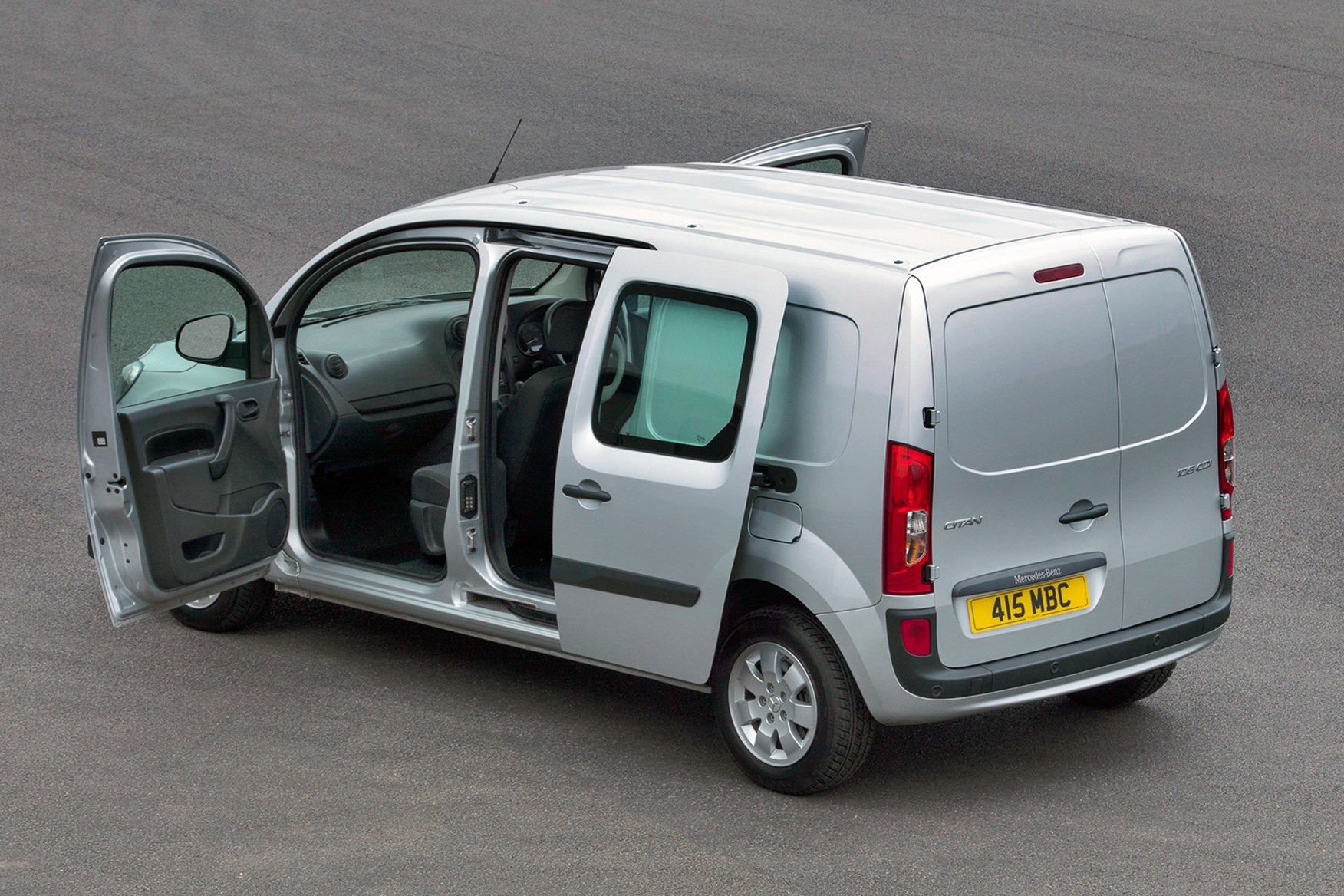 Mercedes-Benz Citan full review on Parkers Vans - load area dimensions