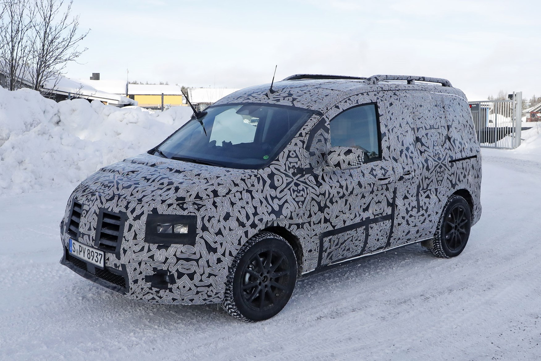 Mercedes-Benz Citan - spy shot of all-new 2020-2021 model