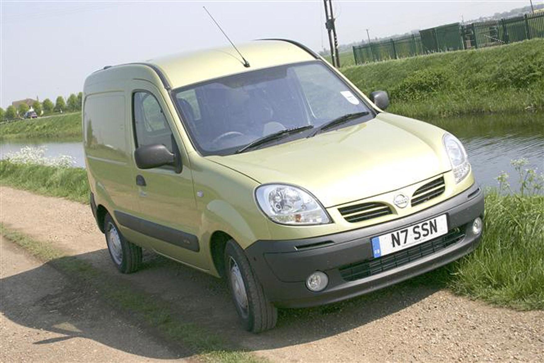 Nissan Kubistar review on Parkers Vans - exterior