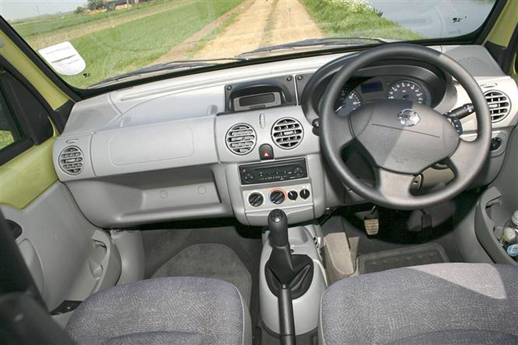 Nissan Kubistar review on Parkers Vans - interior