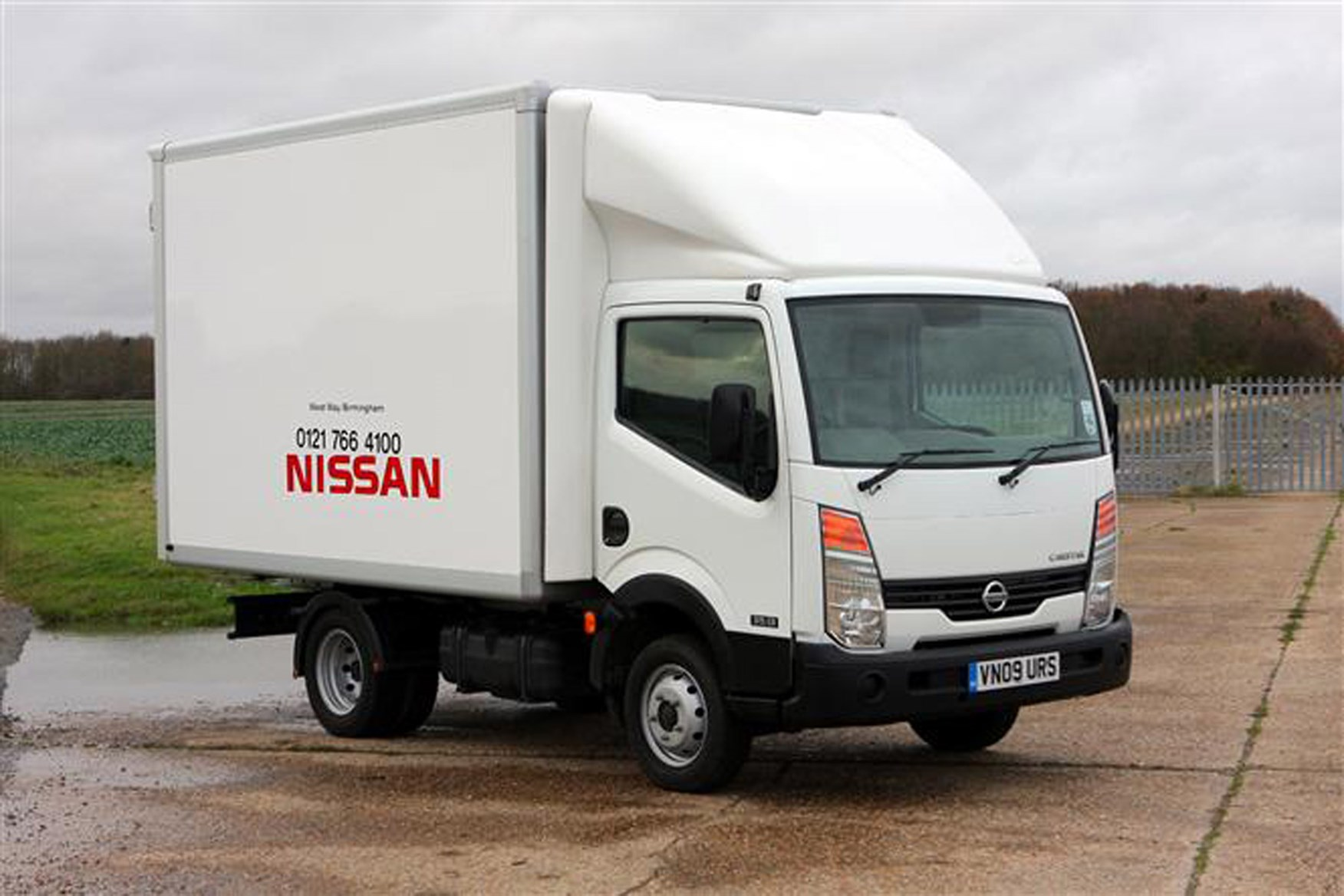 Nissan Cabstar review on Parkers Vans - exterior