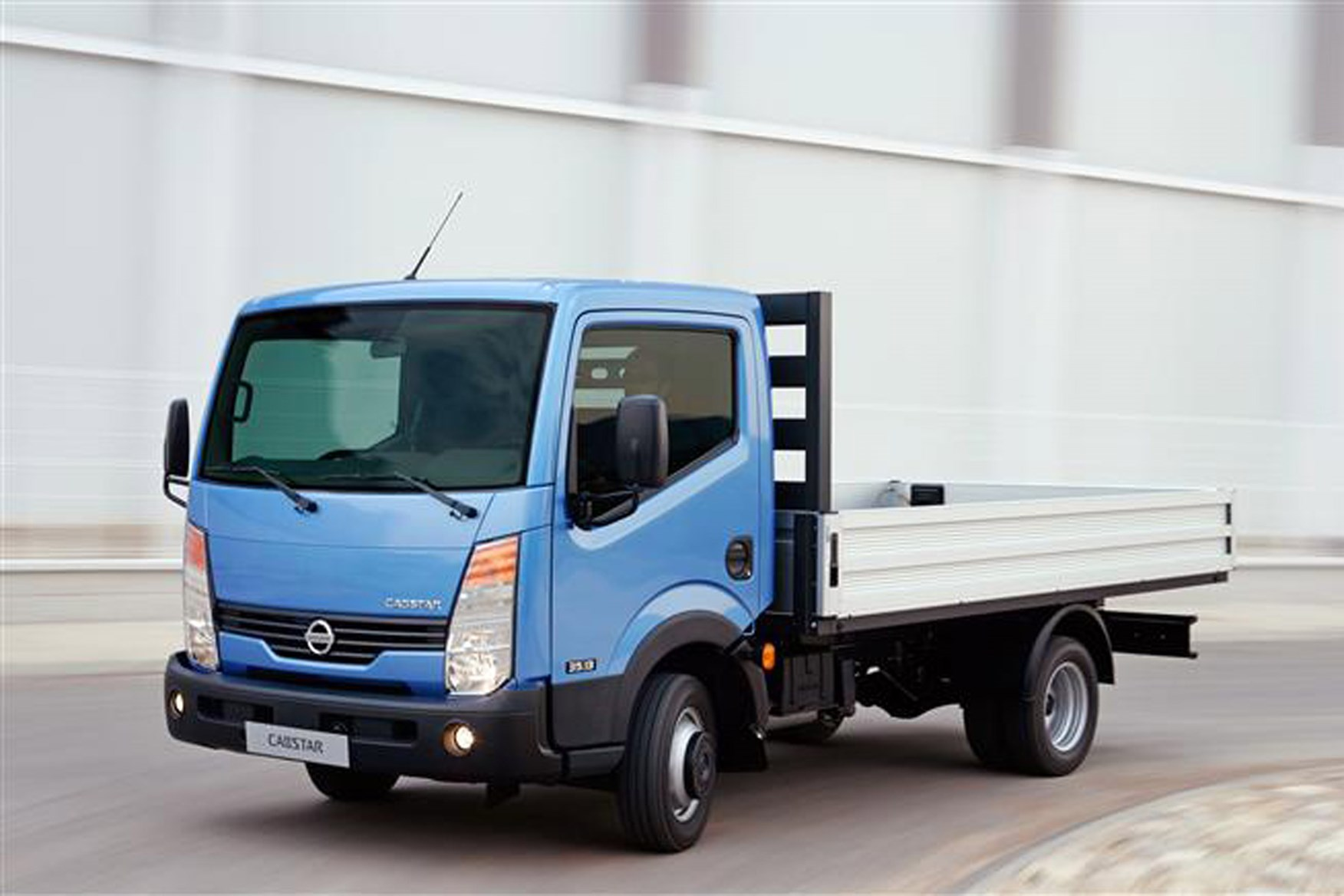 Nissan Cabstar review on Parkers Vans - drop side model exterior