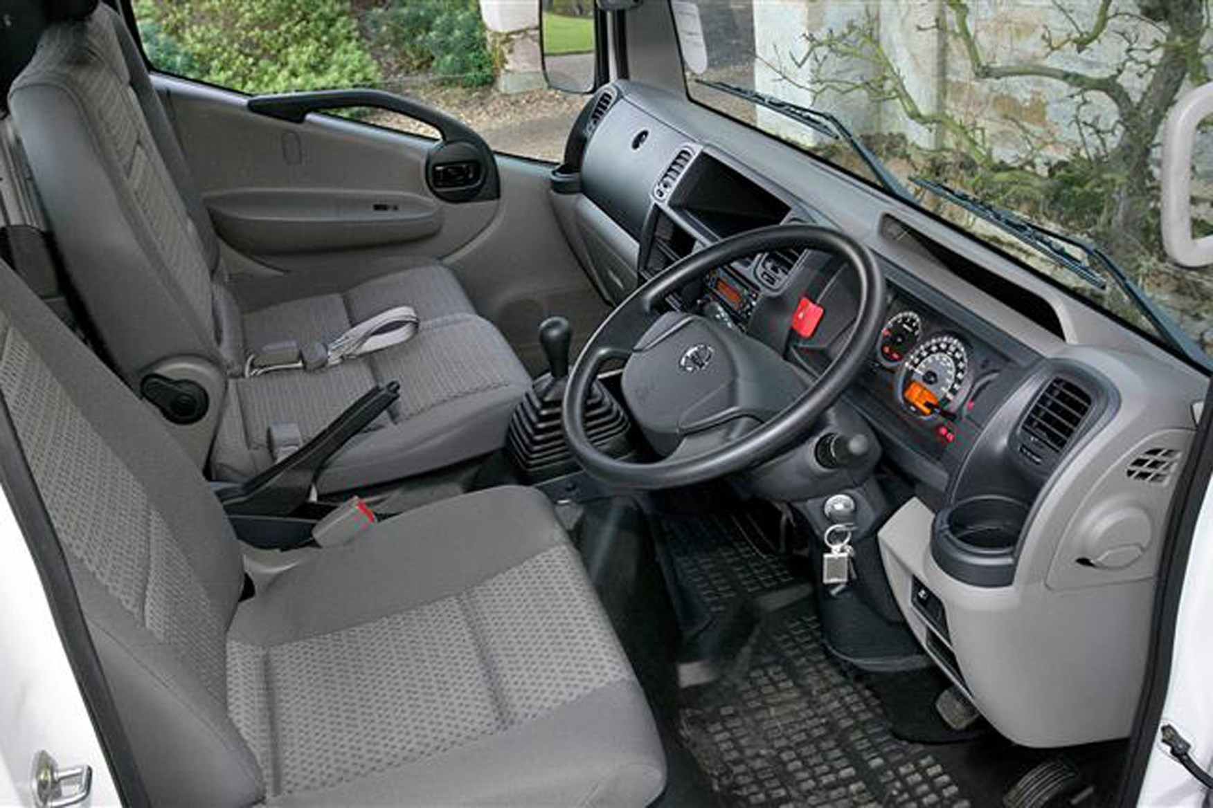Nissan Cabstar review on Parkers Vans - cabin, interior