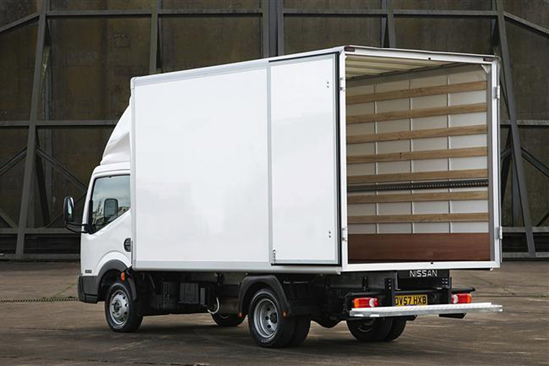 Nissan Cabstar review on Parkers Vans - load area access