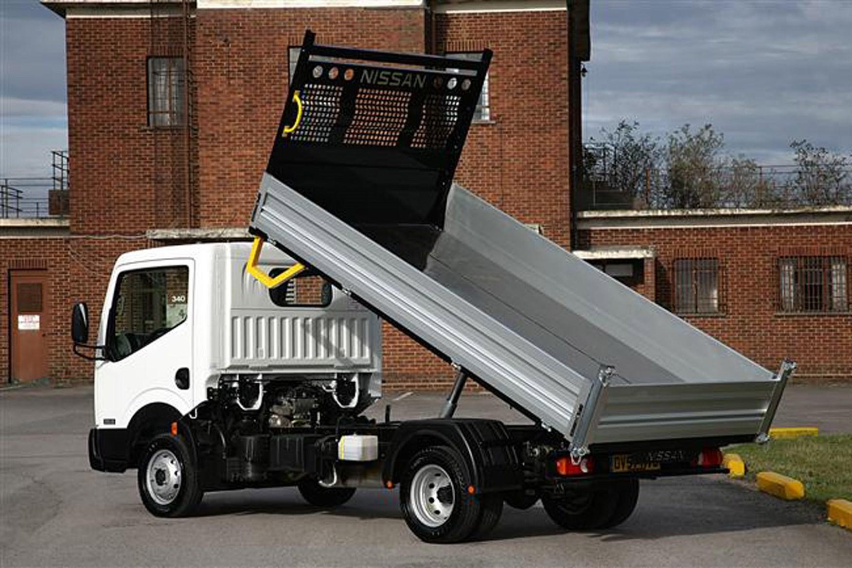 Nissan Cabstar review on Parkers Vans - drop side load area
