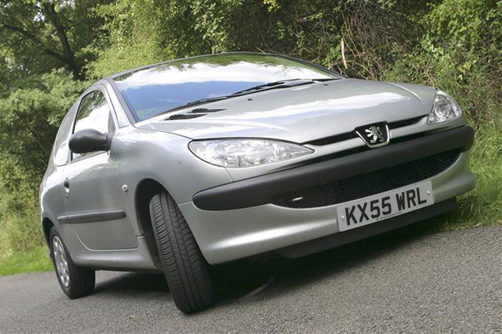 Peugeot 206 Van review on Parkers Vans - front exterior