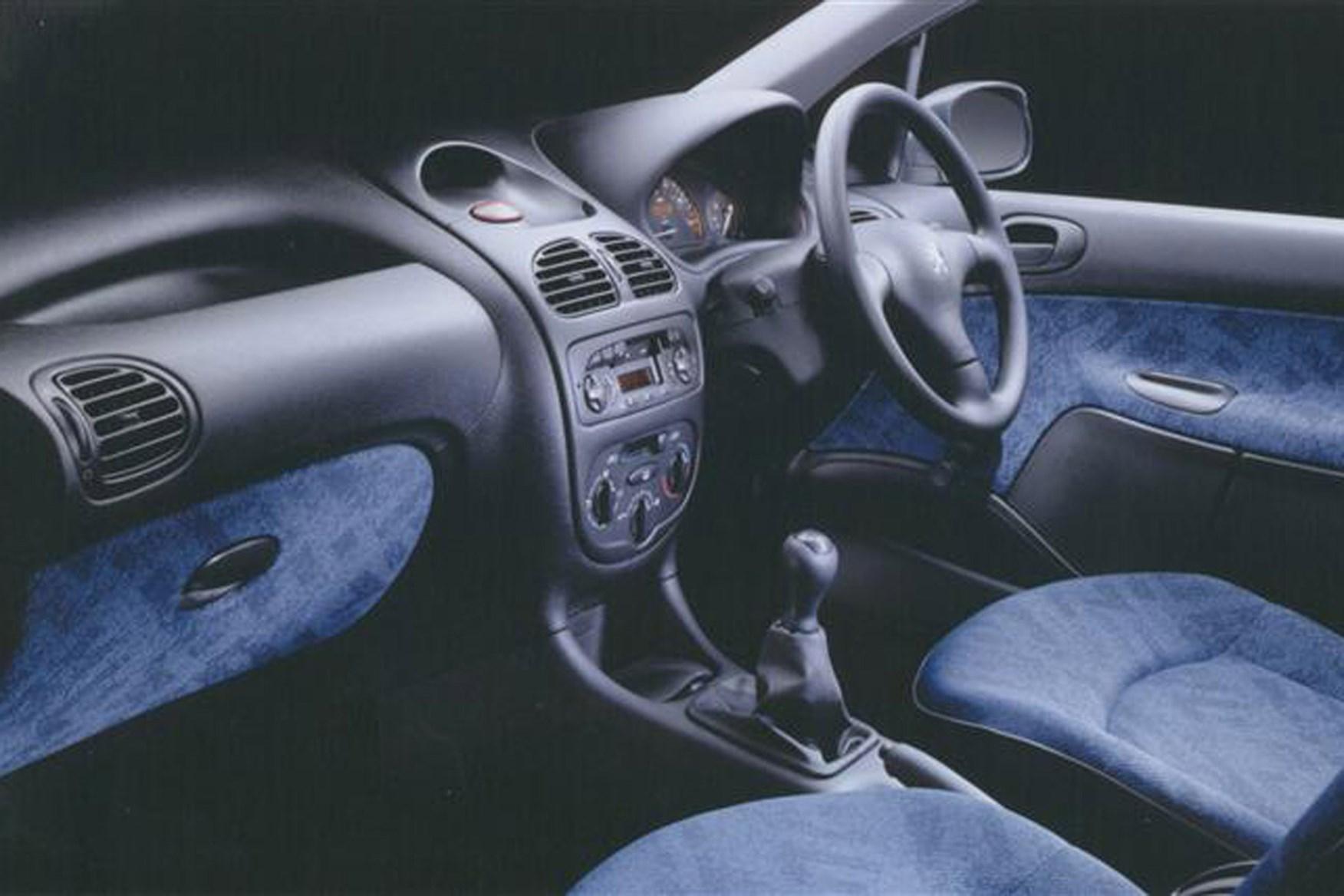 Peugeot 206 Van review on Parkers Vans - cabin, interior