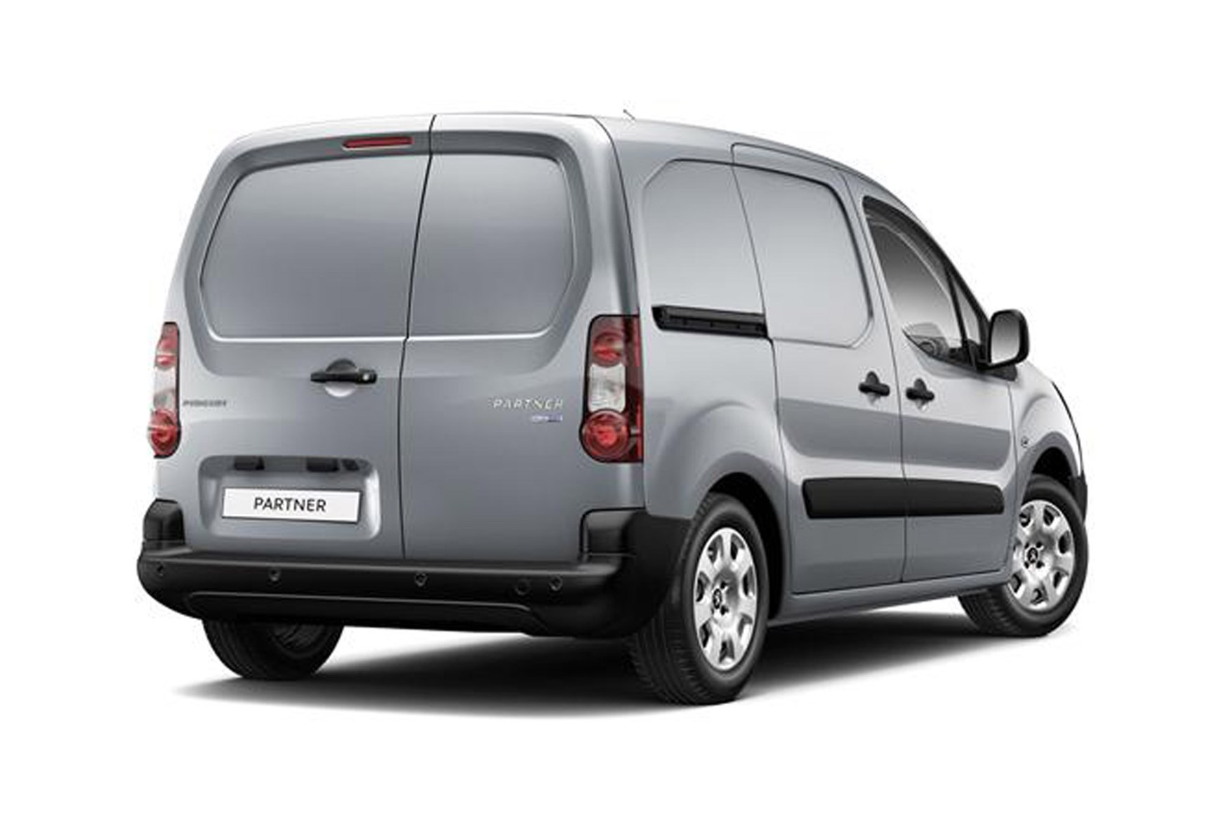 Peugeot Partner full review on Parkers Vans - 2015 facelift rear exterior