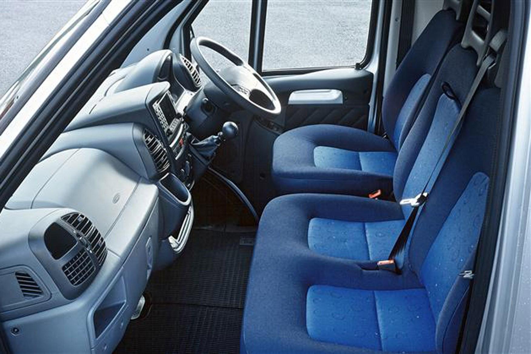 Peugeot Boxer review on Parkers Vans - cabin