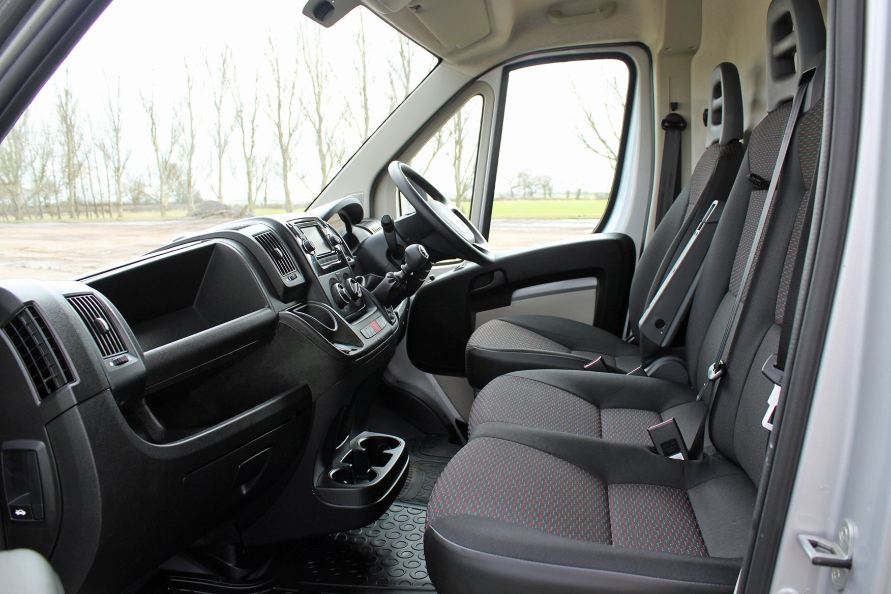 Peugeot Boxer review - cab interior and seats