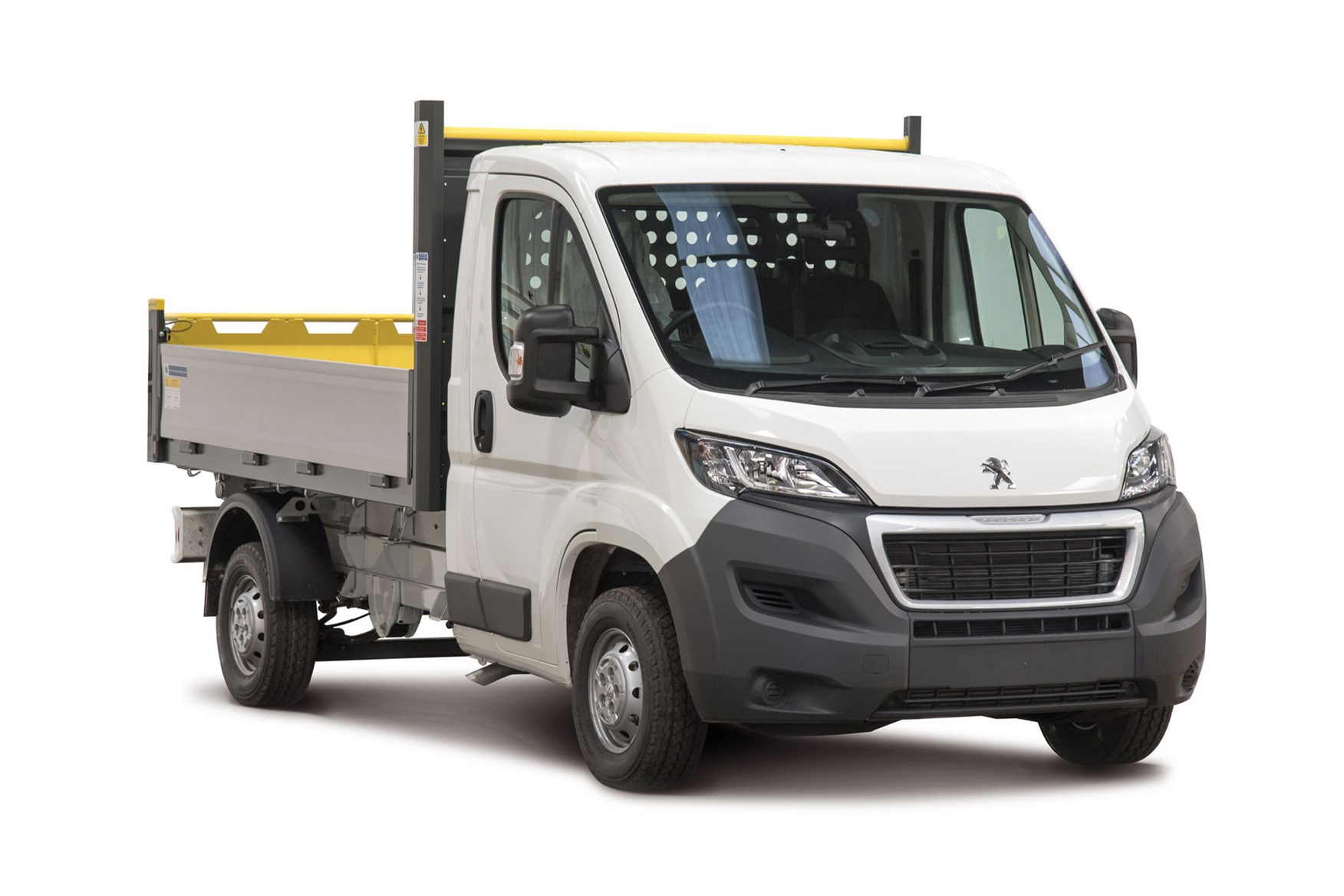White 2019 Peugeot Boxer Tipper from Built for Business conversions range