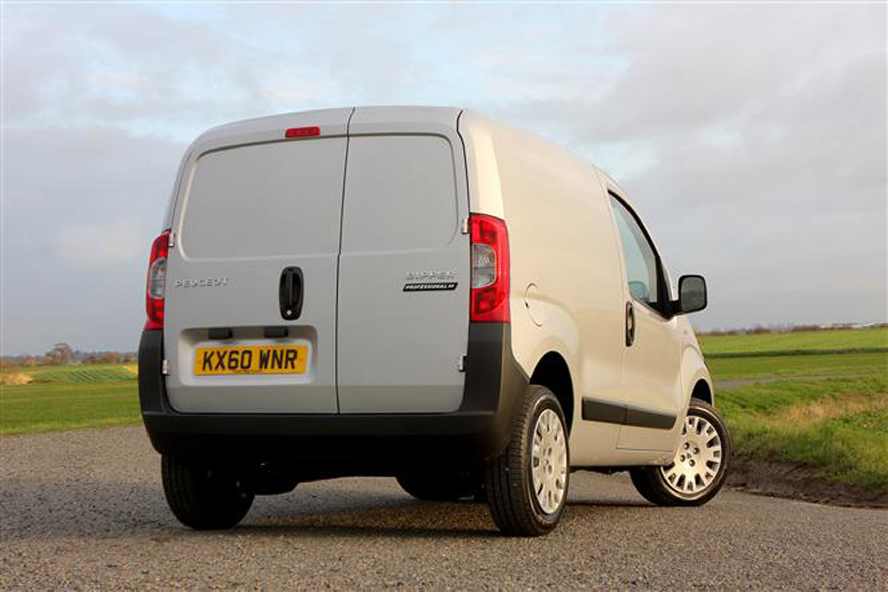 Peugeot Bipper review on Parkers Vans - rear exterior