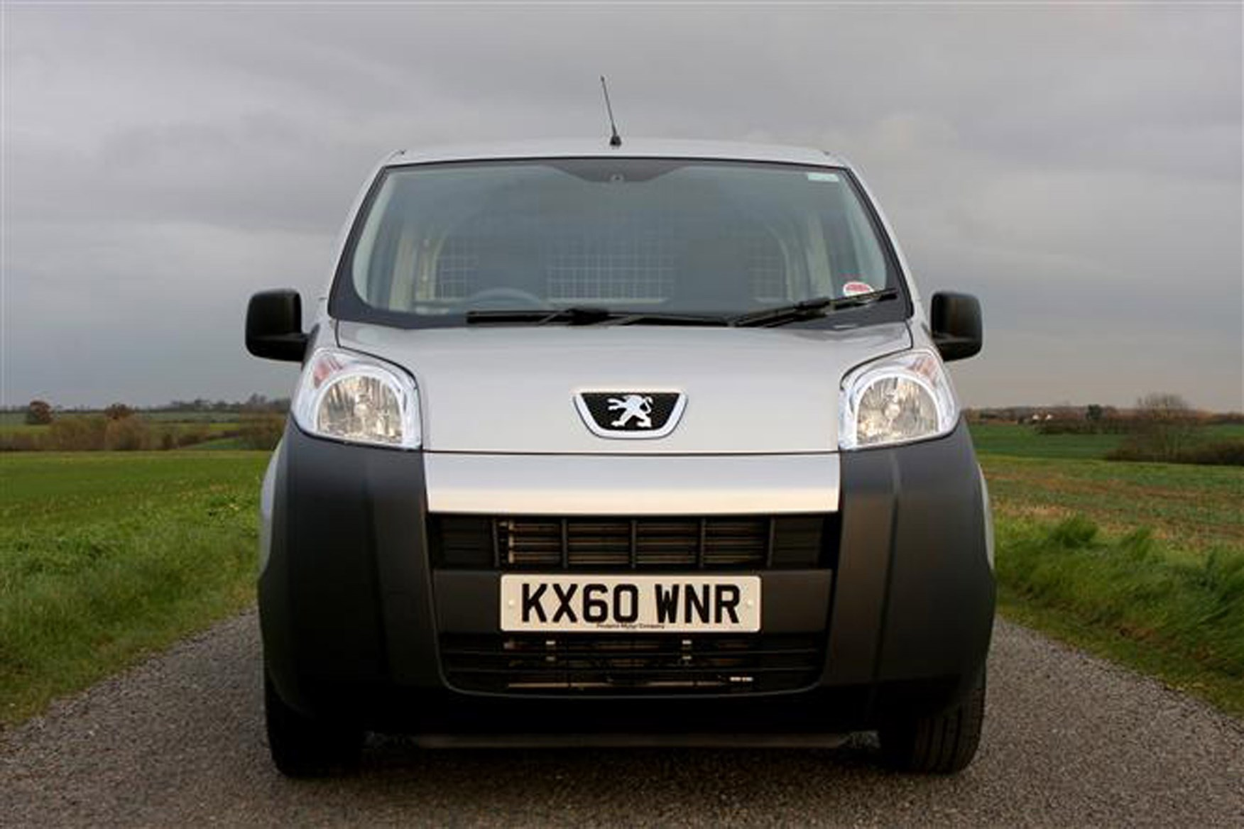 Peugeot Bipper review on Parkers Vans - front